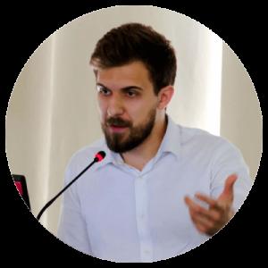 Slika predavača Milana Grujića